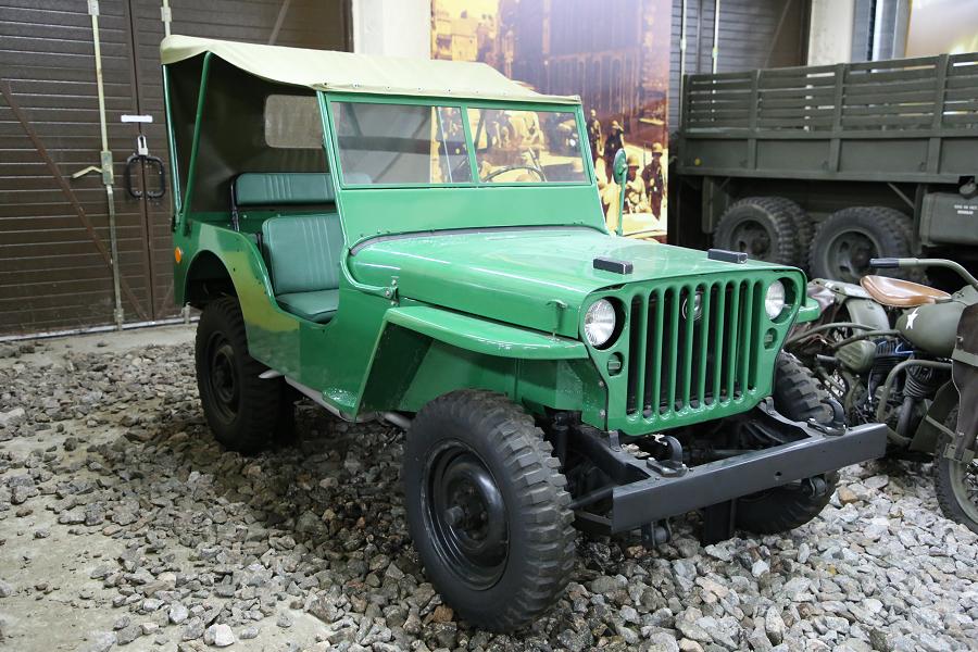 Willys MB. Зеленая версия