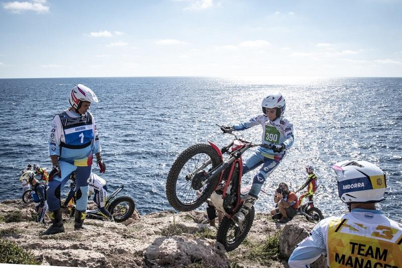 В эти выходные на острове Ибица проходит чемпионат по триалу Trial de les Nacions