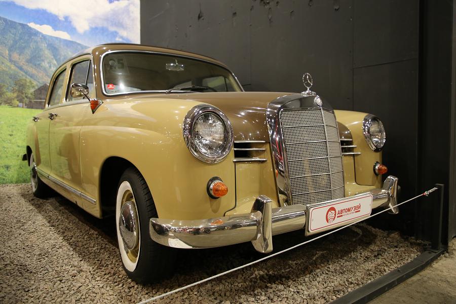 Mercedes Benz 190 (W120 / 121) образца 1958 года_характеристики
