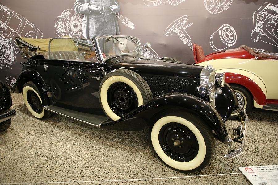 Mercedes Benz 230 (W143) образца 1936 года