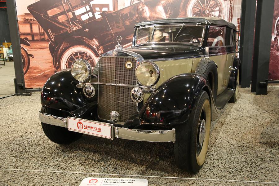 Mercedes Benz 290 образца 1937 года