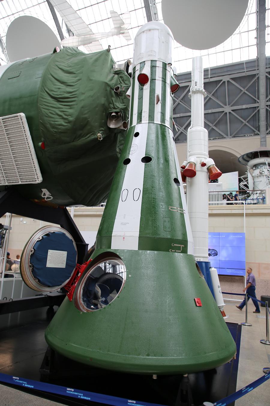 Многоразовый пилотируемый космический корабль ракеты Алмаз