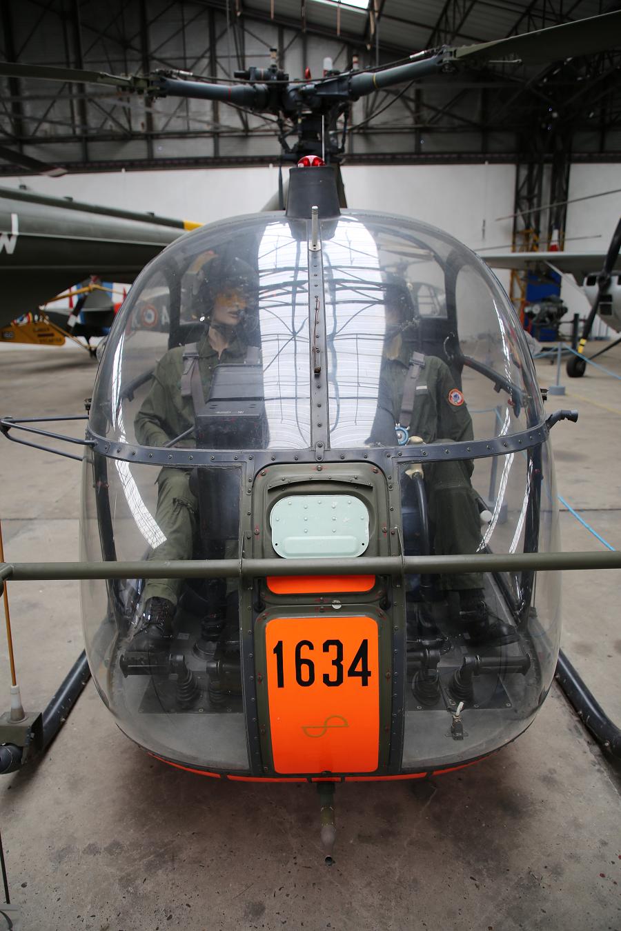 SE 3130 Alouette II. Fabriqué en France