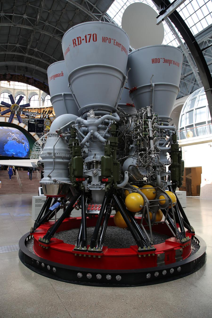 РД-170 - самый мощный двигатель в мире