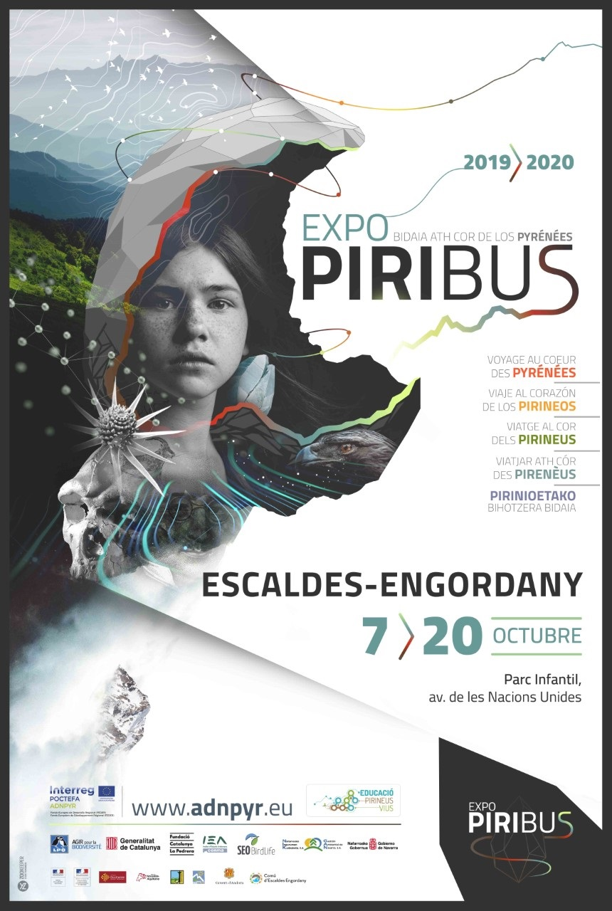 """Journey to the Heart of the Pyrenees"": Piribus Traveling Exhibition will be held in Andorra from October 7th to 20th"