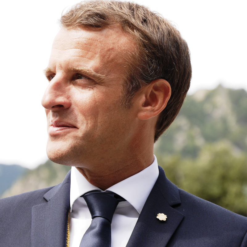 "The President of France and Co-Prince of Andorra, Emmanuel Macron, visited ""mountain people fraternity"""