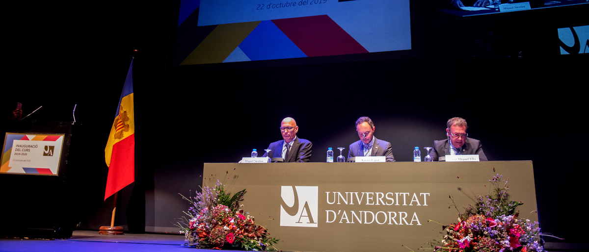 Andorran University marks a record number of students