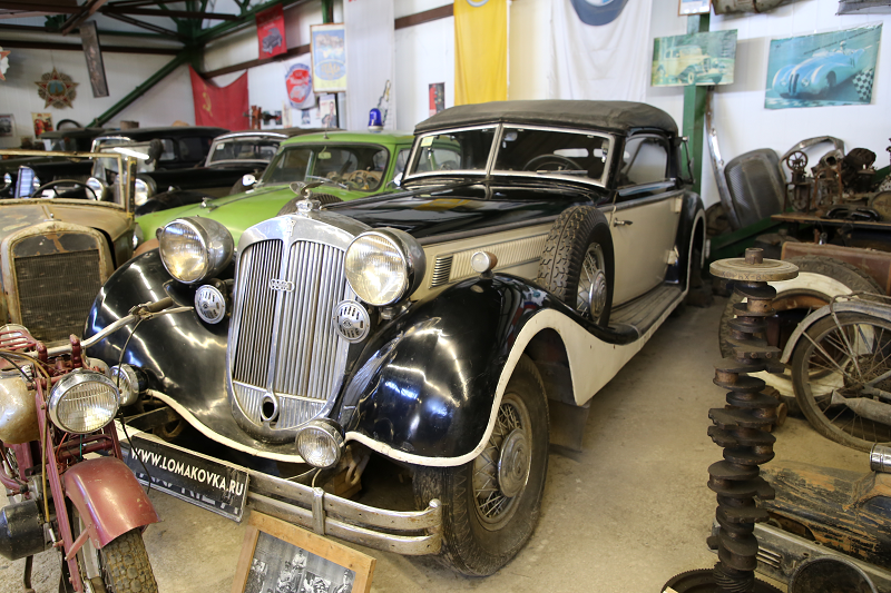 Hermann Göring Horch 853 : voiture du Troisième Reich