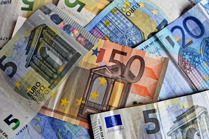 Оповещение об обнаружении фальшивых банкнот 5, 10, 20 и 50 евро