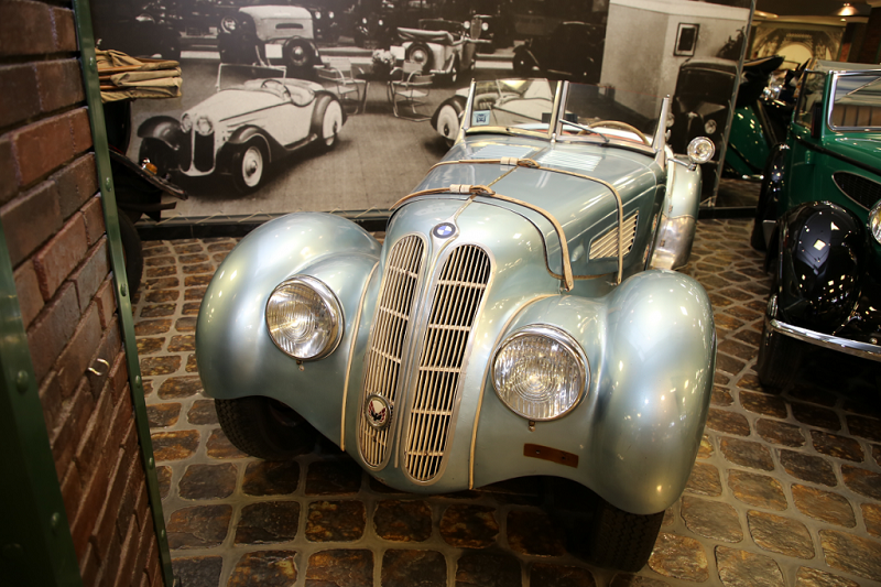 BMW 328 roadster : voiture ancienne
