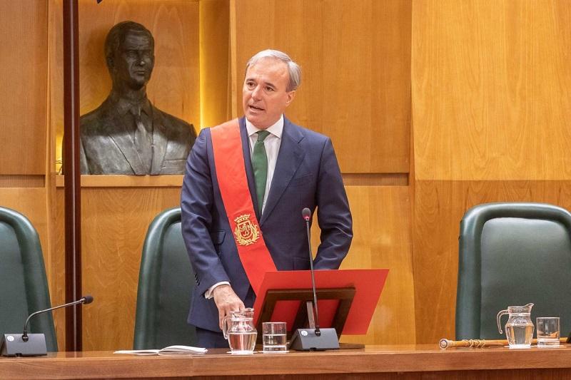 According to the Economic Activity Index, Zaragoza is the fourth city in Spain, said Zaragoza Mayor Jorge Azcón
