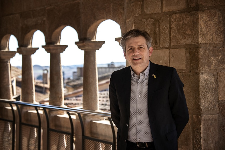 "Solsona is ""a city with character"" because of its rich cultural heritage, says Mayor of Solsona, David Rodriguez Gonzalez"