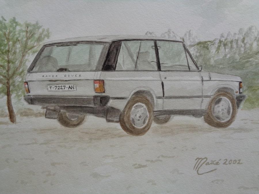 Range Rover 3-portes wagon de 1972