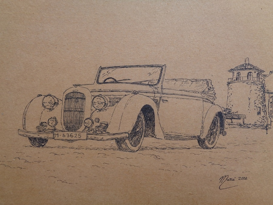 Delahaye 135 de Joan Mañé Fort cotxes