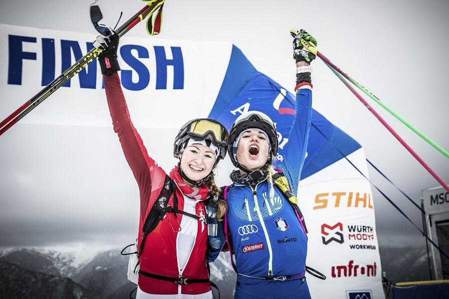 La deuxième étape de la Coupe du Monde de la SKIMO, Andorre-Comapedrosa (Arinsal)