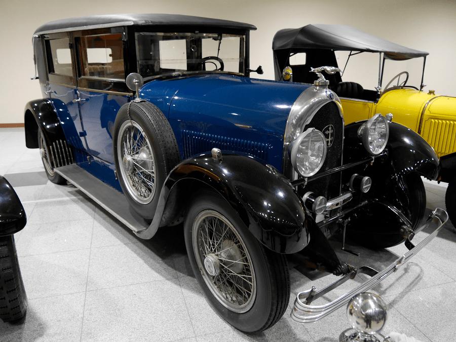 Lorraine-Dietrich B36. Fet el 1928 a França