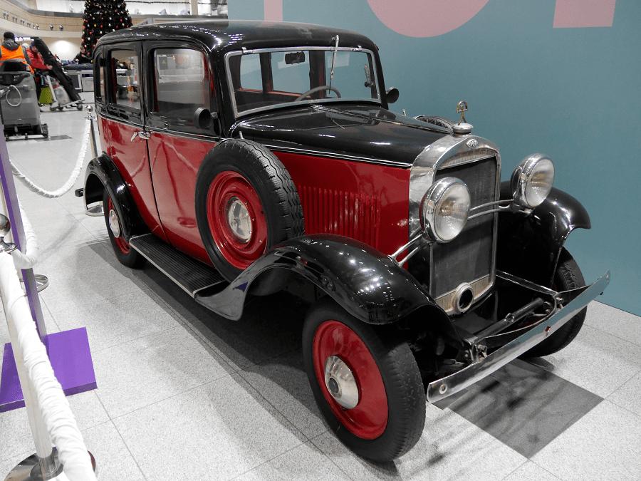 Опель Модель 1.2 Л. Сделан в 1933