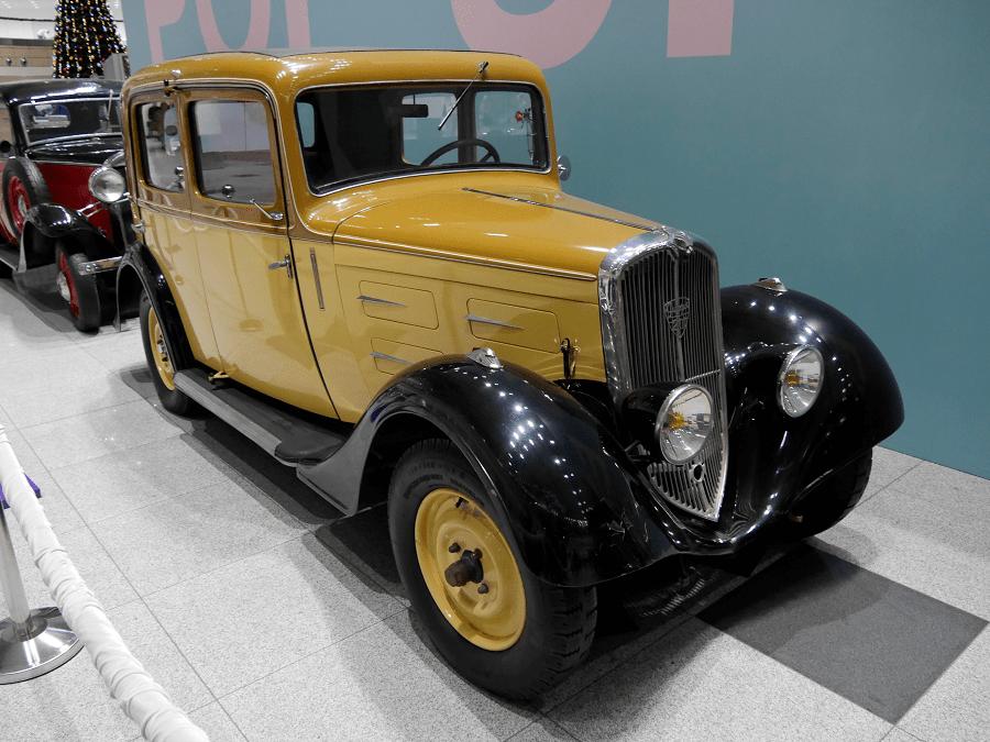 Пежо 201 БР. Сделан в 1933