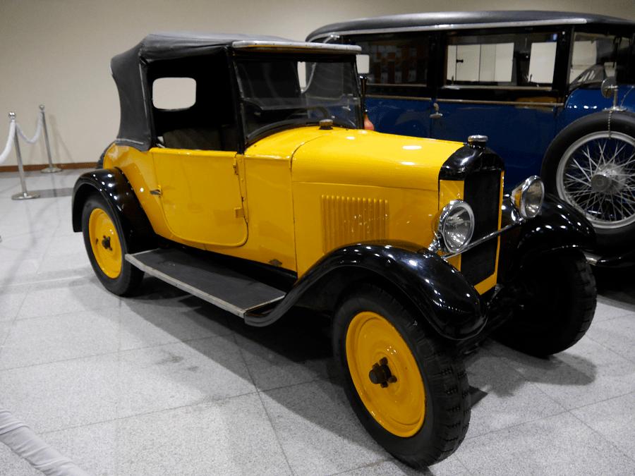 Peugeot 5CV Groc. Fet el 1925