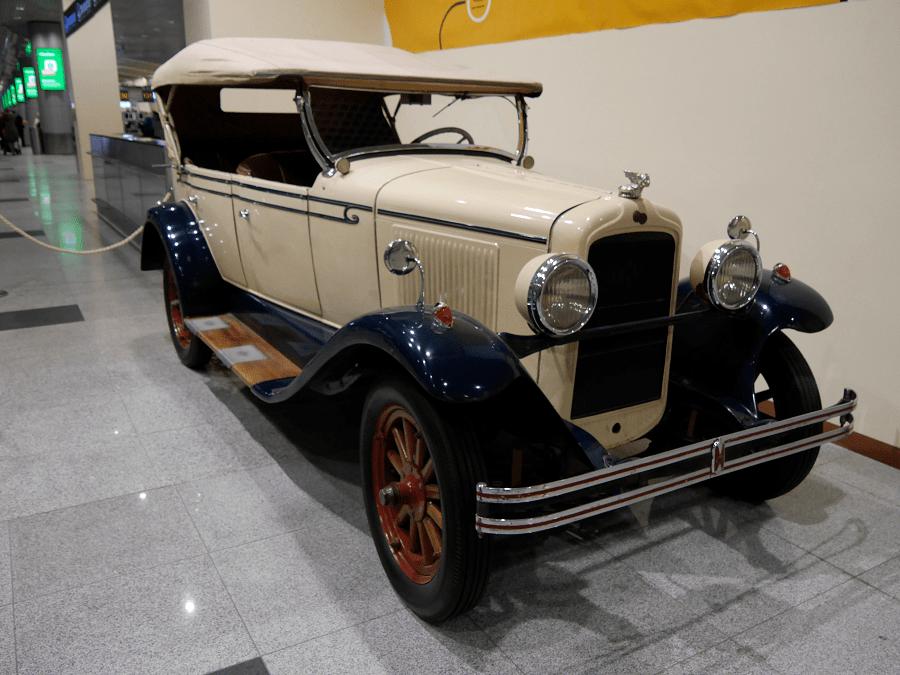 Понтиак 6-28 (186). Сделан в 1928 году в США