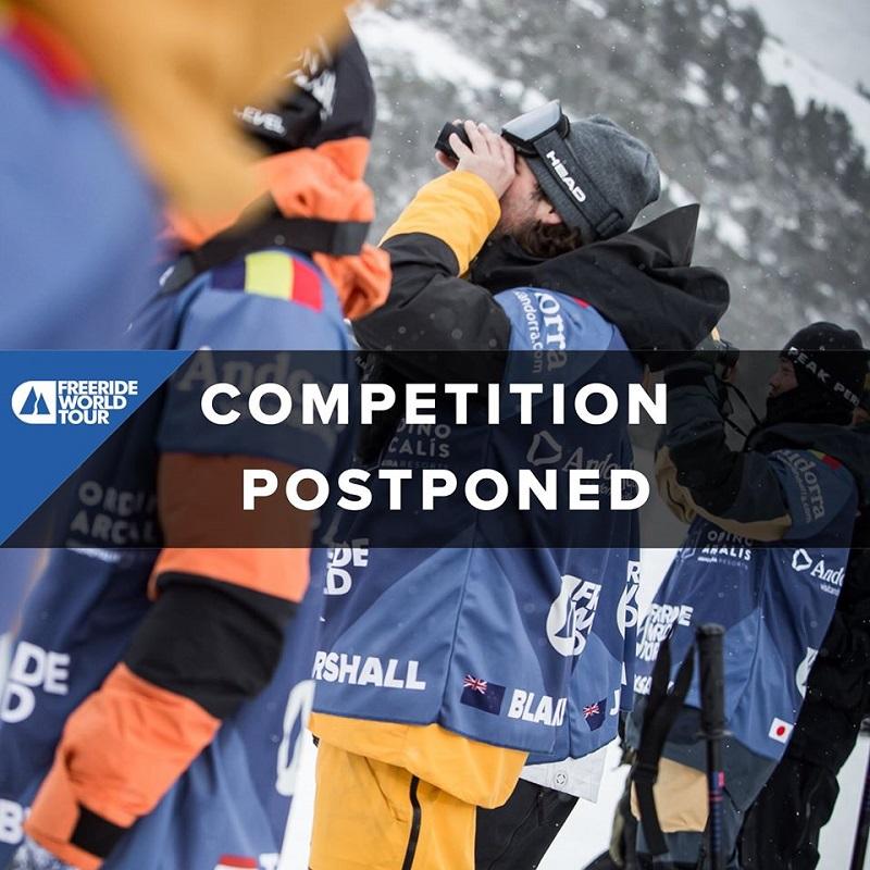 В связи в отсутствием снега соревнование по фрирайду в Андорре отложено
