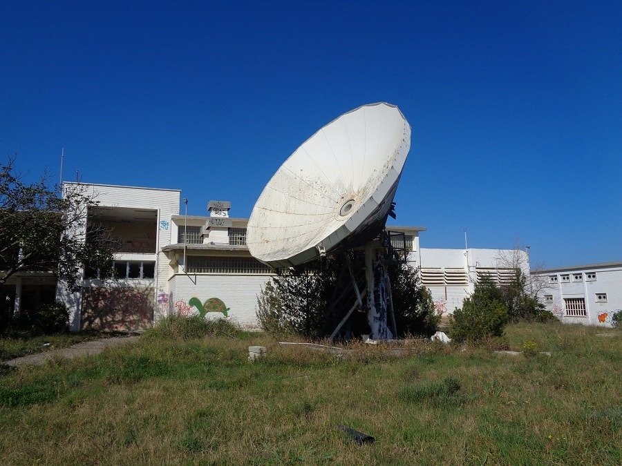 """Наследие """"холодной"""" войны. Заброшенная станция Радио Свобода, Пальс, Каталония"""