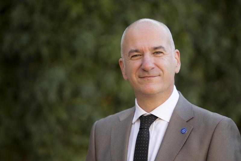 Nosaltres volem treballar en l'eix pirinenc que connecti les universitats properes a aquest espai, ha dit El rector de la Universitat de Girona, Quim Salvi