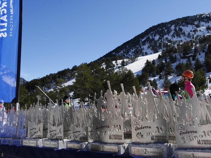 La Sportiva Andorra Skimo la plus difficile de ces dernières années a clôturé sa cinquième édition avec plus de 1.000 coureurs de 14 nationalités