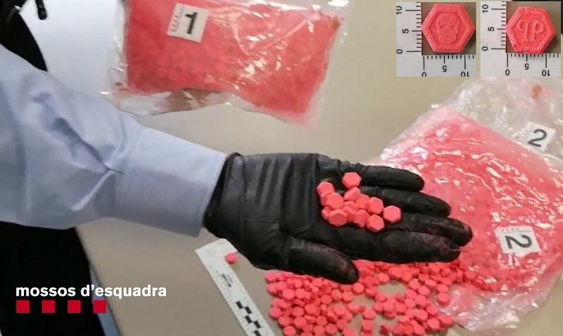 Andorran resident detained with lots of ecstasy pills