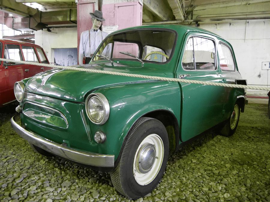 ZAZ 956 Zaporozhets. Green version