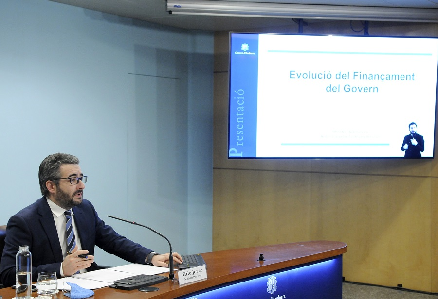 The Andorran government budget deficit 2020 is expected to be 111.3 million euros