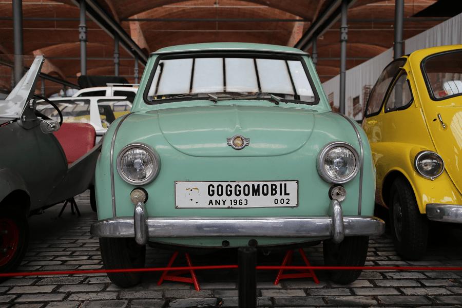 Goggomobil T-350. Светло зеленая версия