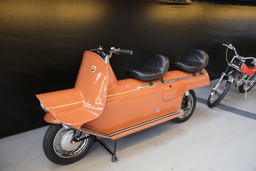 Montesa Fura. Version orange