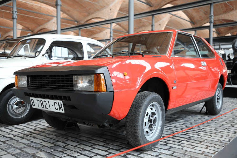 SEAT 1200 Sport. Красная версия