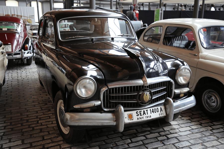 Seat 1400-A. Черная версия