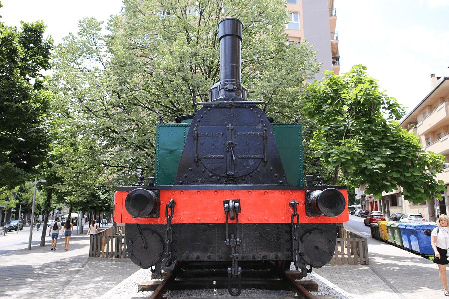 SA de Gouillet Belcique : locomotive à vapeur à Terrassa. Série de Renfe : №794