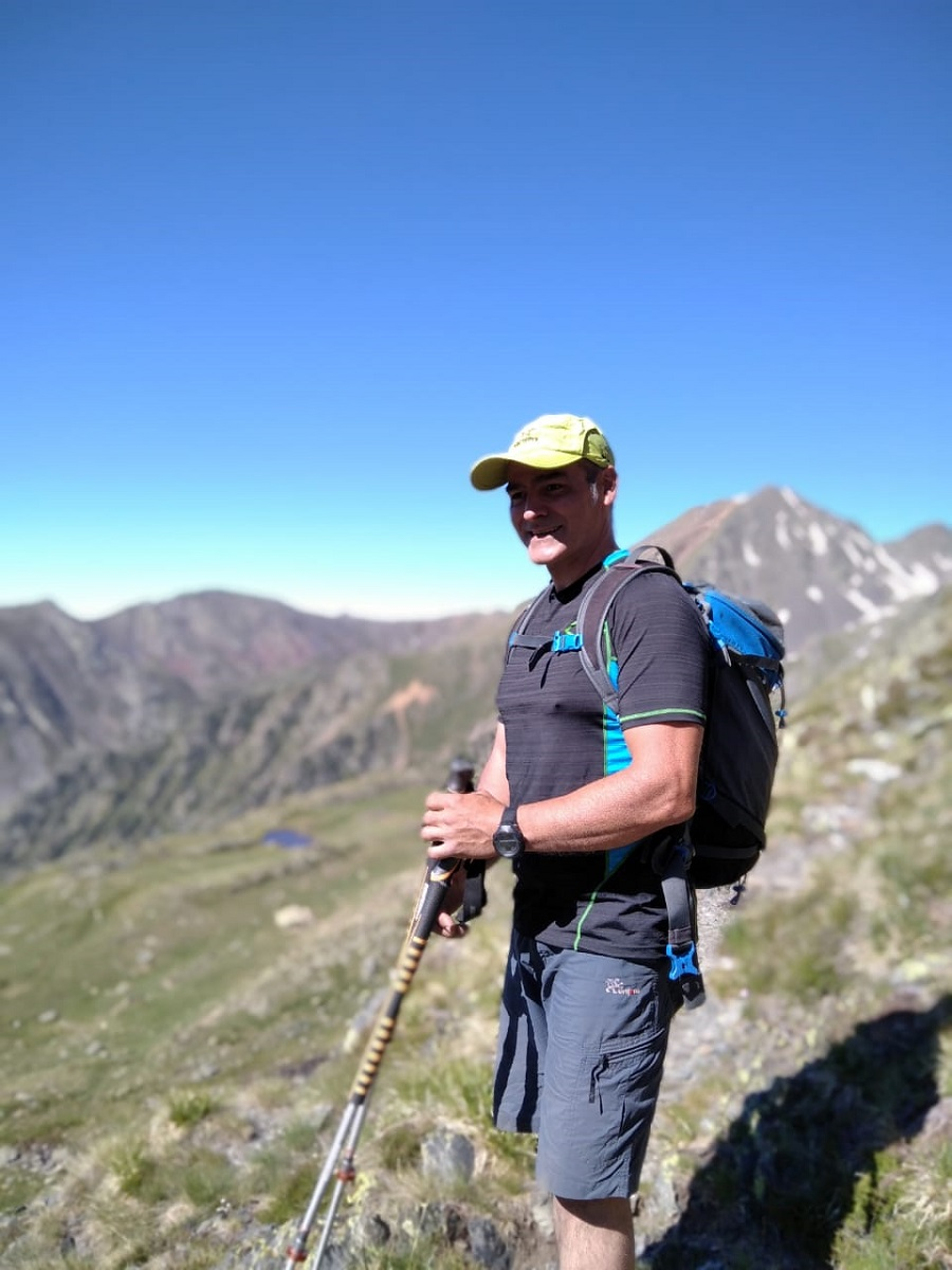 Xavi Bonatti, professional climber, mountain guide