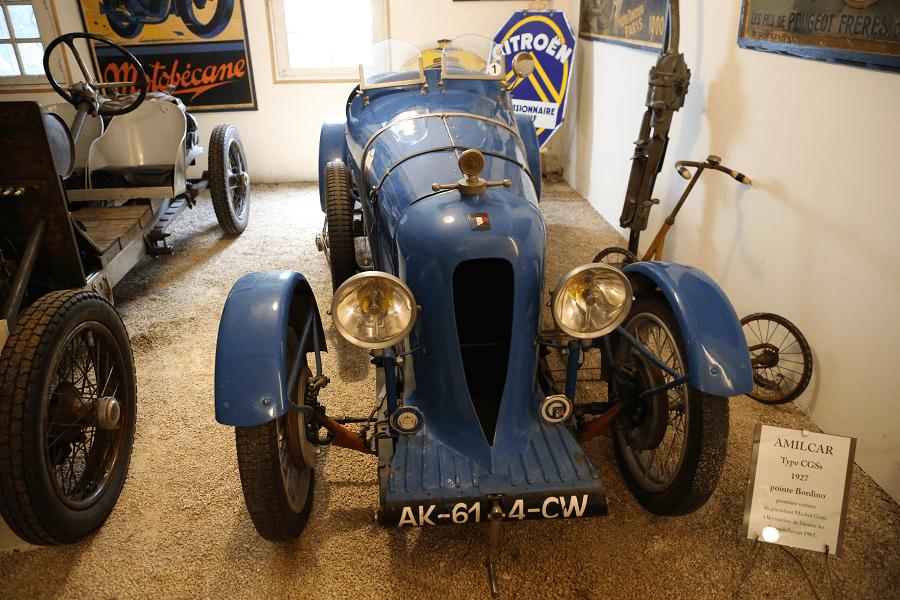 Amilcar Type CGSs 1927 года. Синяя версия