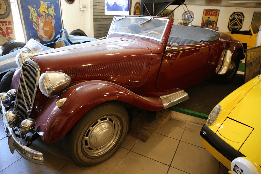 Citroën 15/Six. Красная версия