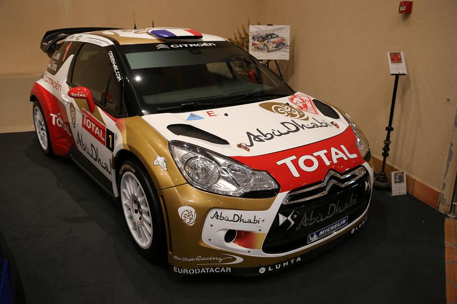 Citroën DS3 WRC 2013. Раллийная версия