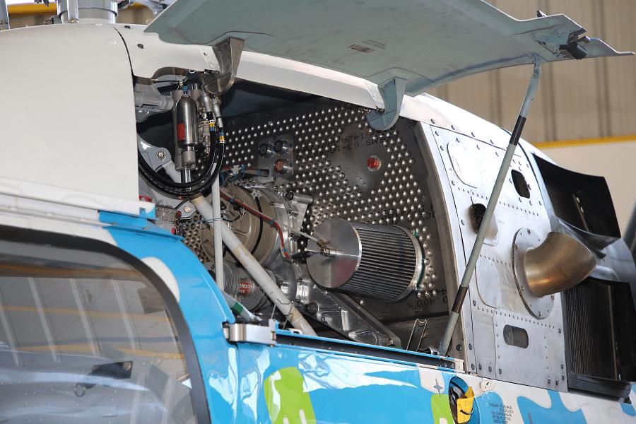 Eurocopter H EC120 Colibri : hélicoptère français_moteur