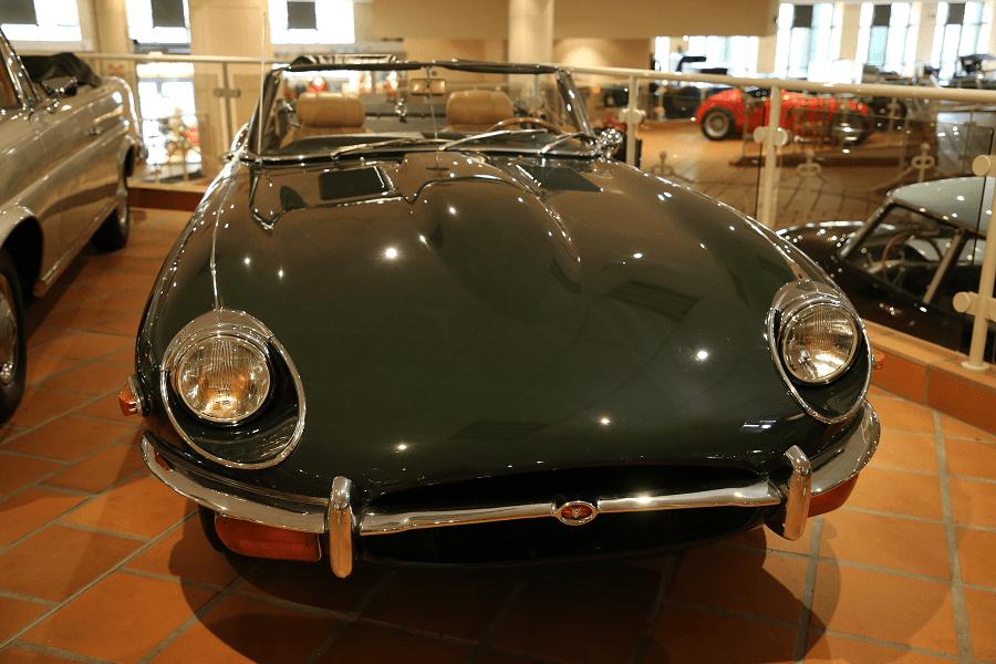 Jaguar Type E. Зеленая версия