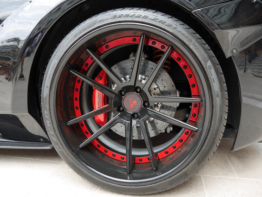 LB-WORKS 458 Full Bumper complete body kit roue de luxe rare disques rares