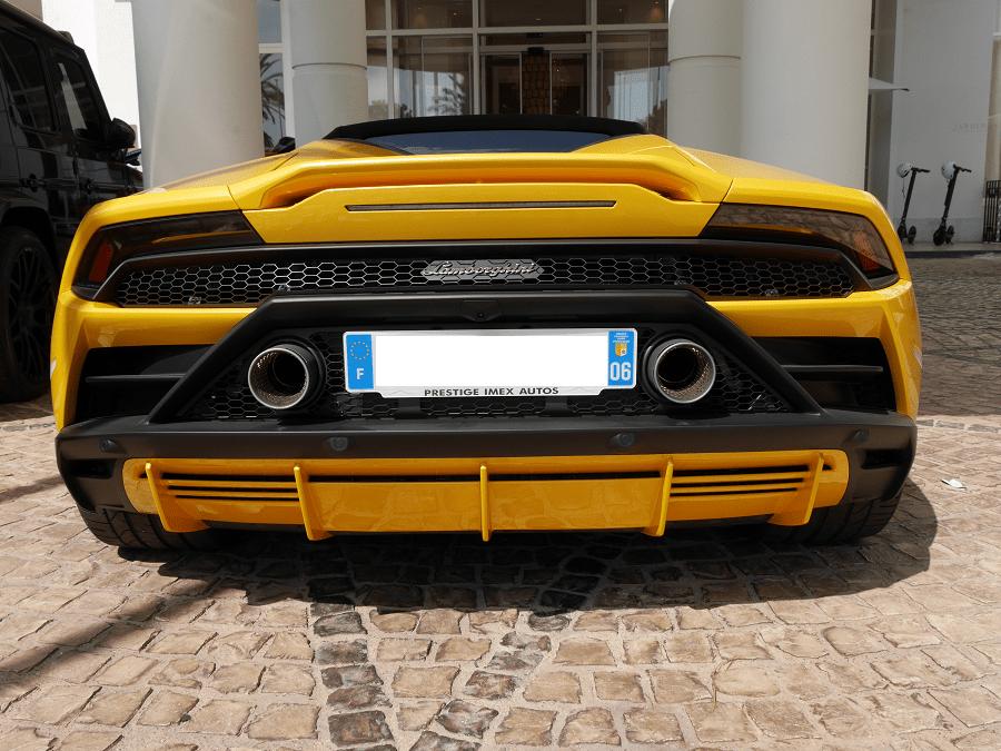 Lamborghini Hurácan EVO. Желтая версия martinez