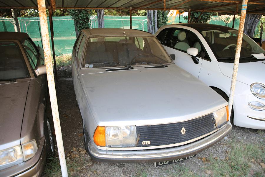 Renault 18 GTS. Серая версия_перед