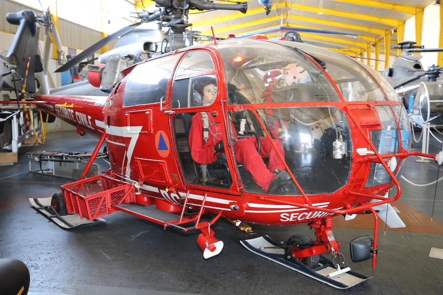SA 316 F-ZBDC Alouette III - Французский спасательный вертолет