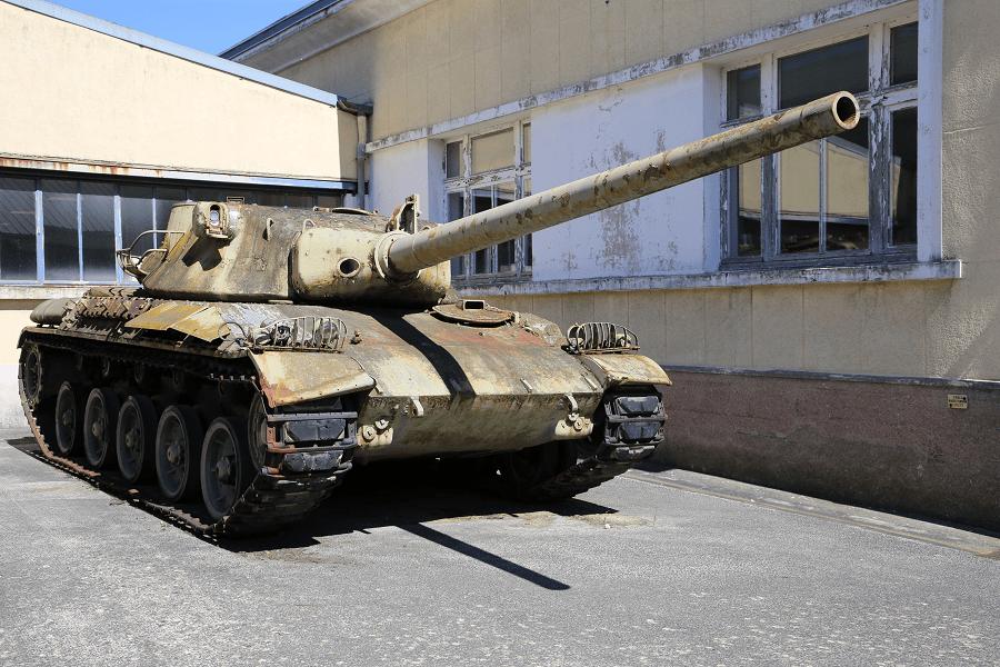 Французский АМХ 30 - первый прототип