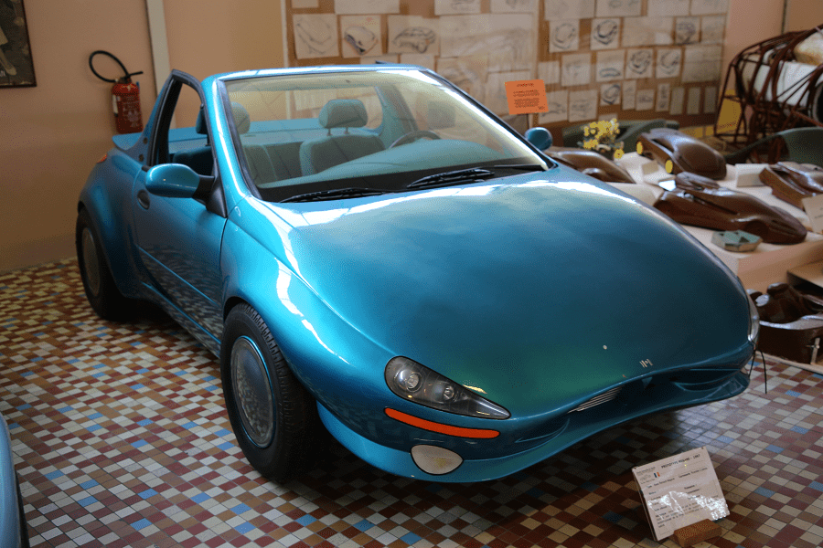 Концепт Renault Megane Siemens образца 1997 года