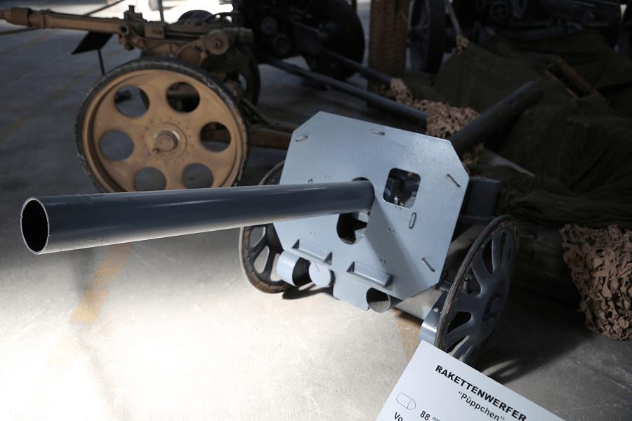 8,8-мм Raketenwerfer 43 Puppchen - многоразовая противотанковая ракетная установка калибра 88 мм