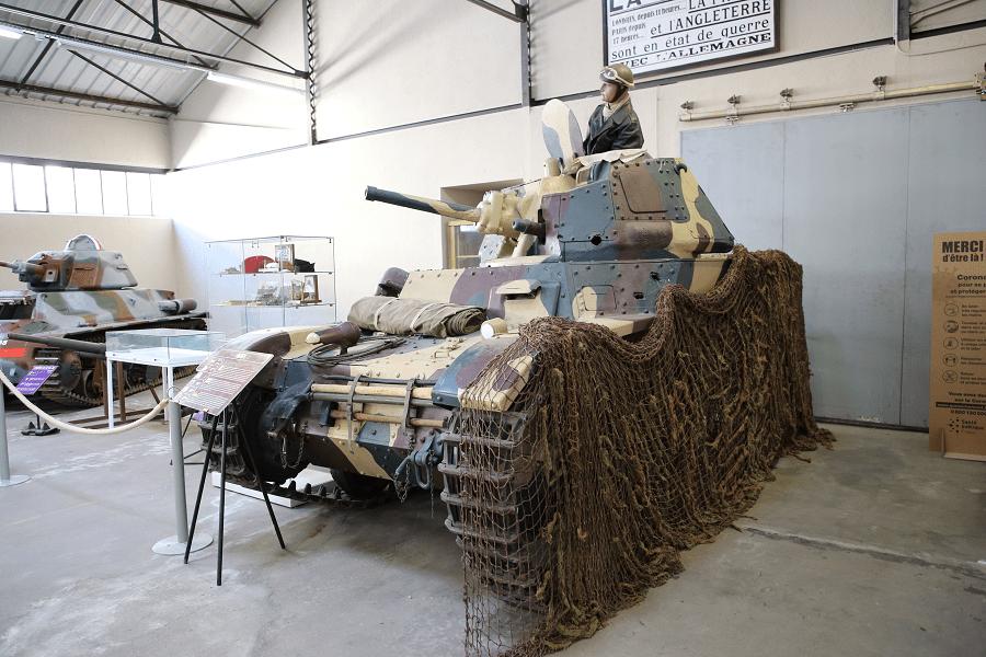 AMC 35 (Renault ACG-1) - французский средний кавалерийский танк 1936 года